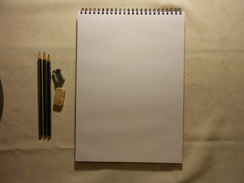 Materiales básicos del dibujo