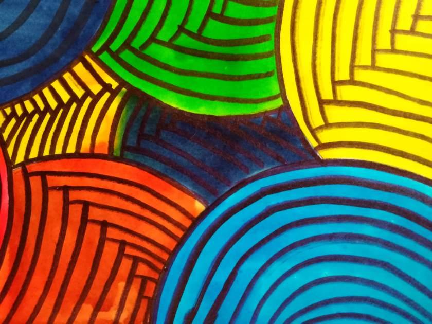 pintura vitral