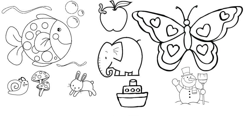 dibujos infantiles ejemplos