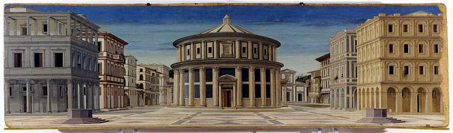 640px-Formerly_Piero_della_Francesca_-_Ideal_City_-_Galleria_Nazionale_delle_Marche_Urbino_2