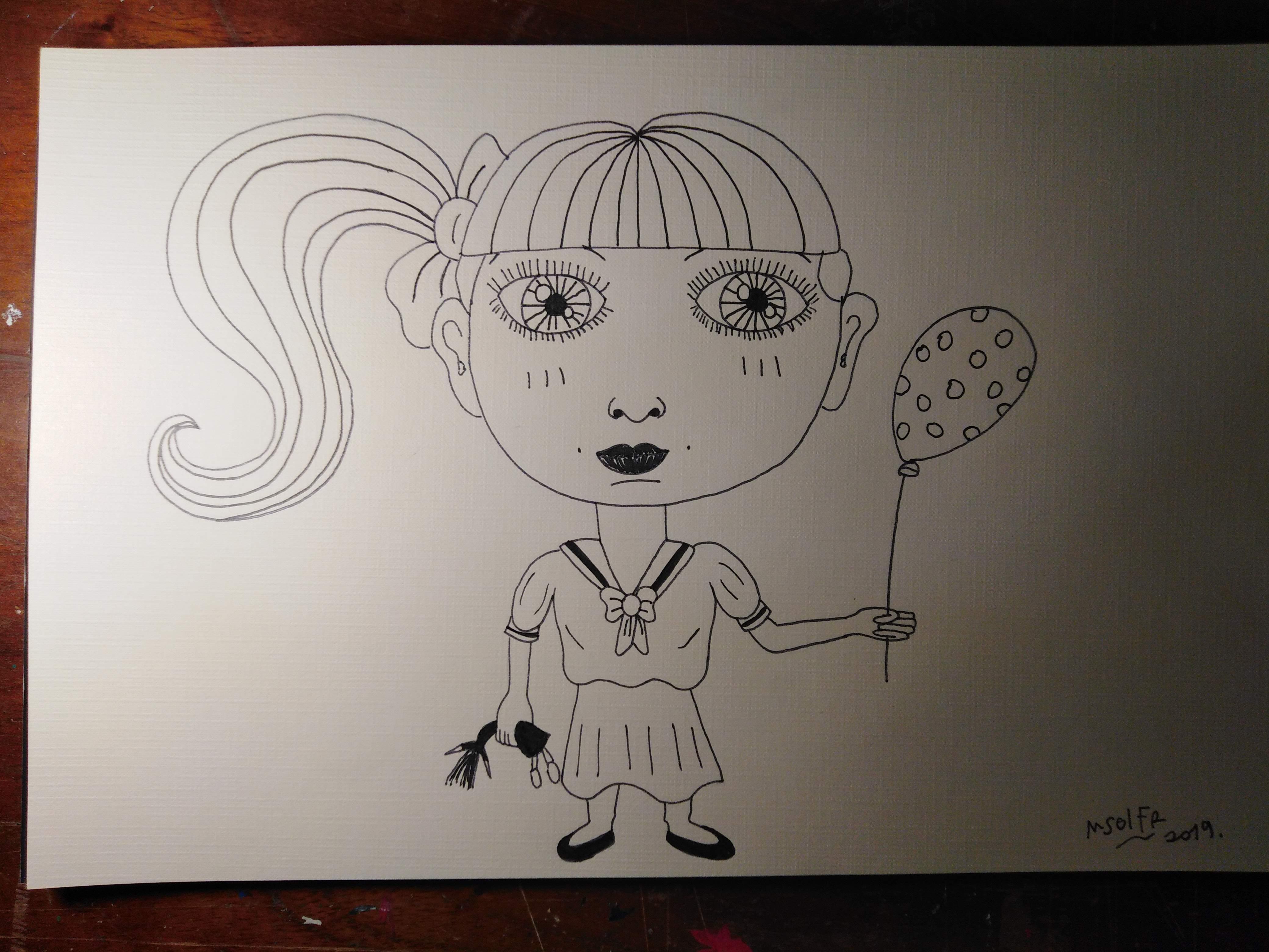 dibujando caricatura para niños